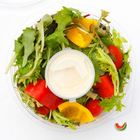 Picture of MIXED LEAF SALAD WITH FRENCH DRESSING